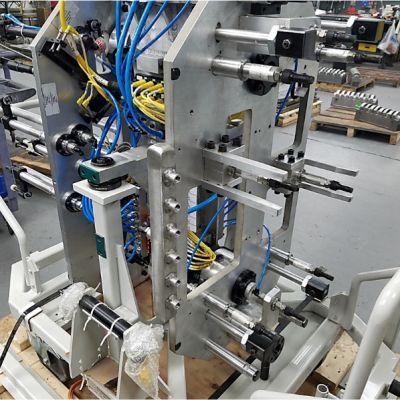 Core setting fixture for a robotic arm